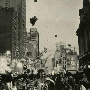 Blocos pelas ruas de São Paulo em  1973